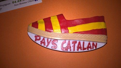 Magnet ESPADRILLE Pays catalan