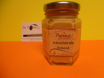 Moutarde douce pyrene 100 grs