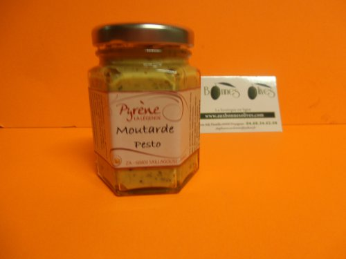 Moutarde au pesto 110 grs