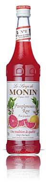 Sirop pamplemousse rose monin