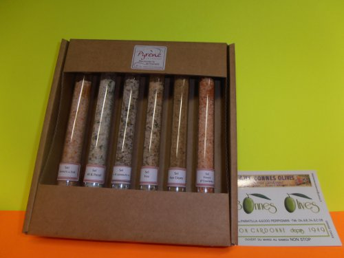 Tubes sels (6 tubes)  aux aromates